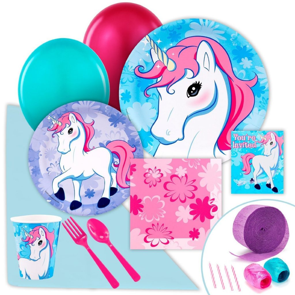 Enchanted Unicorn Party Pack Bundle