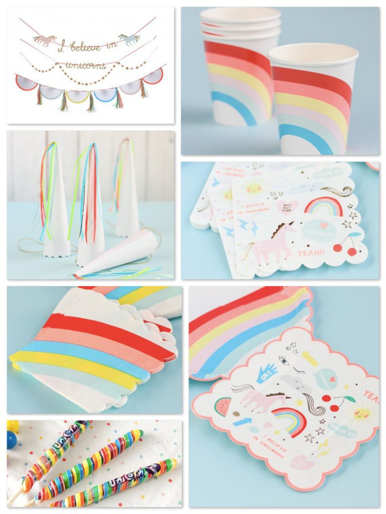 Rainbows & Unicorns Party Supplies