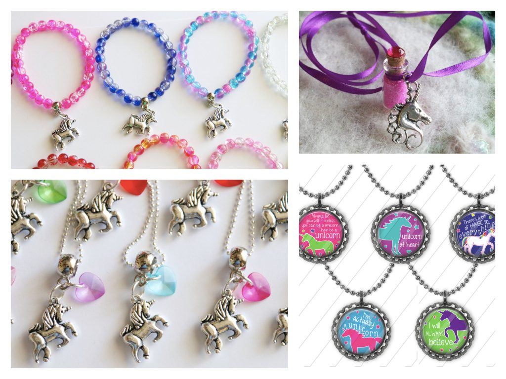 Unicorn Party Favor Necklaces
