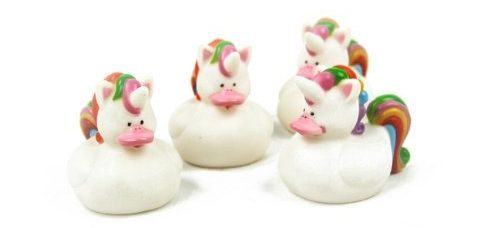 Unicorn Rubber Duckies
