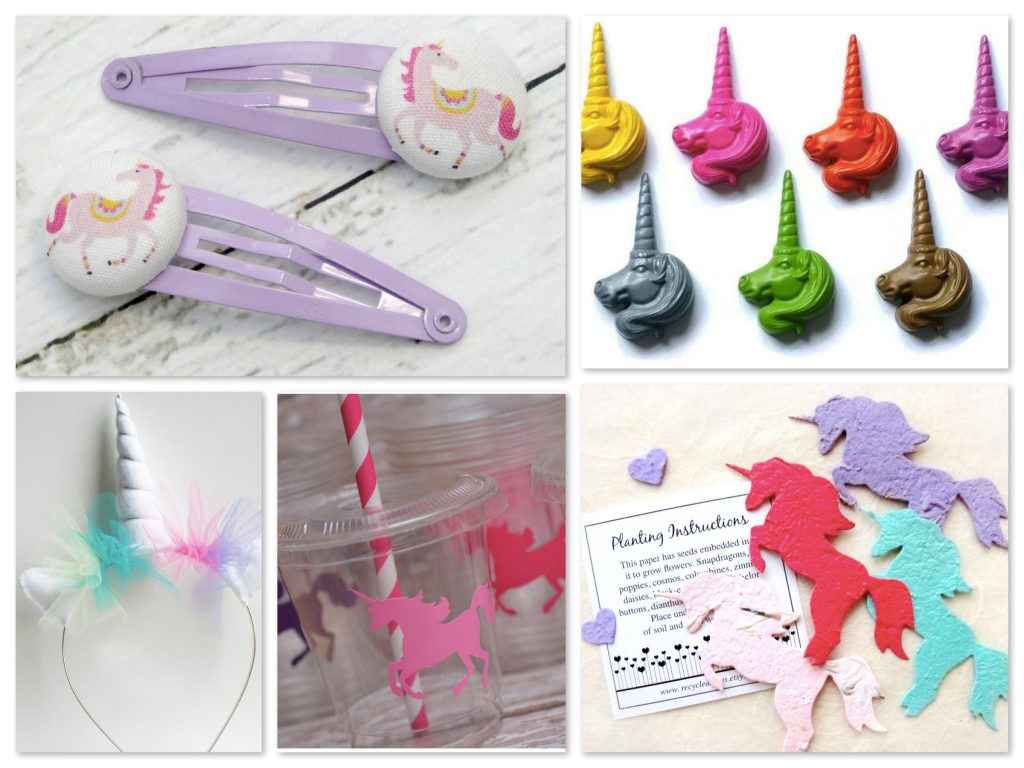 Unicorn Theme Party Favors