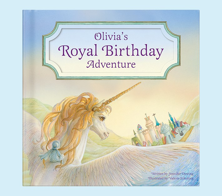 Personalized Unicorn Royal Birthday Adventure Storybook