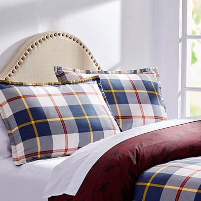 City Scene Weston Check and Horse Print Bedding Sets (comforters and duvets available)
