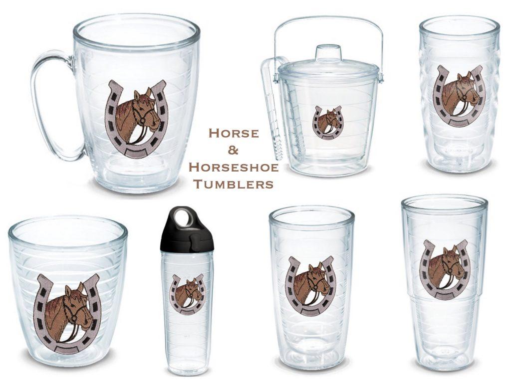 Horse & Horseshoe Tumblers