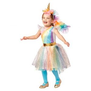 Deluxe Rainbow Unicorn Costume