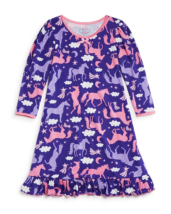 girls-flying-unicorn-nightgown