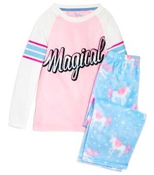 Girls' Magical Unicorn Pajama Set