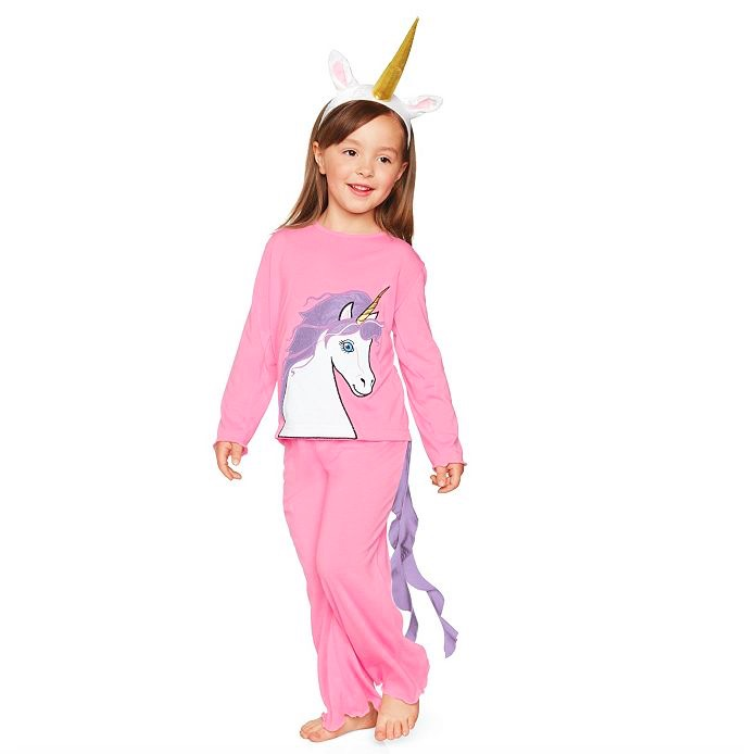 Girls Unicorn Pj's