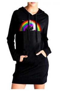 Hooded Unicorn Dress