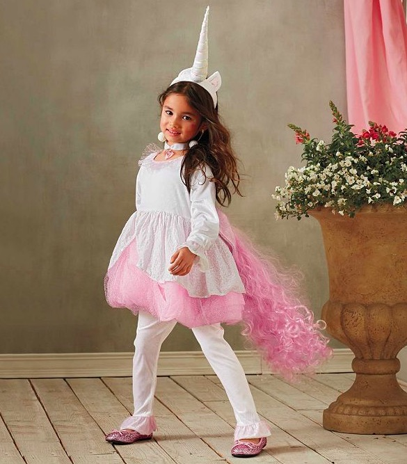 Magical Unicorn Costume For Girls