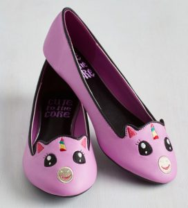 pink-unicorn-flat-shoes