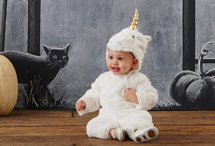 Baby Unicorn Costumes  sc 1 st  MomMeMatch.com & Mommy u0026 Me Matching Unicorn Costumes | Halloween | MomMeMatch.com