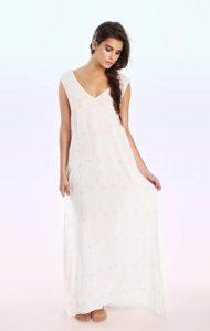 Unicorn Print Maxi Dress