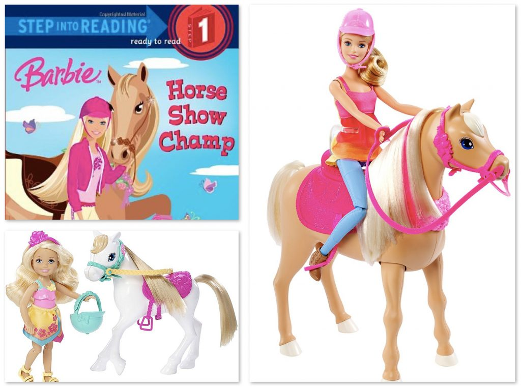 Barbie and Horse Dolls
