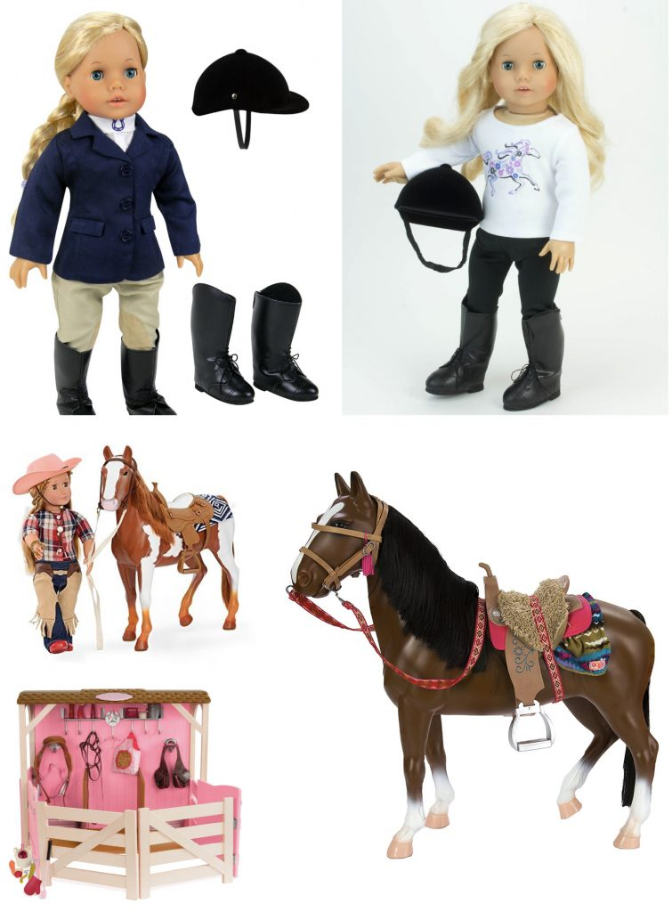 Doll Clothes for the Young Horse Lover
