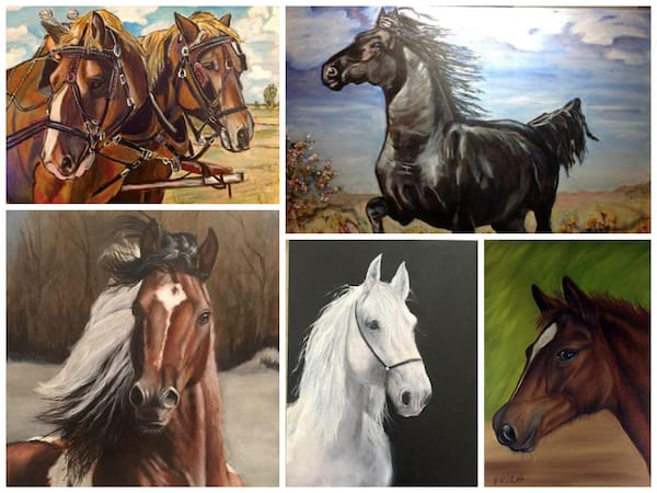 Learn to Paint Beautiful Horses