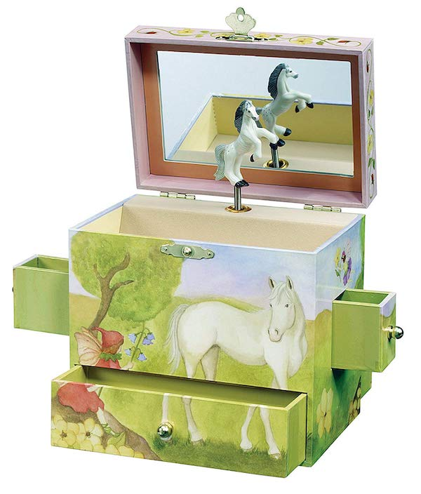Horse Jewelry Music Box