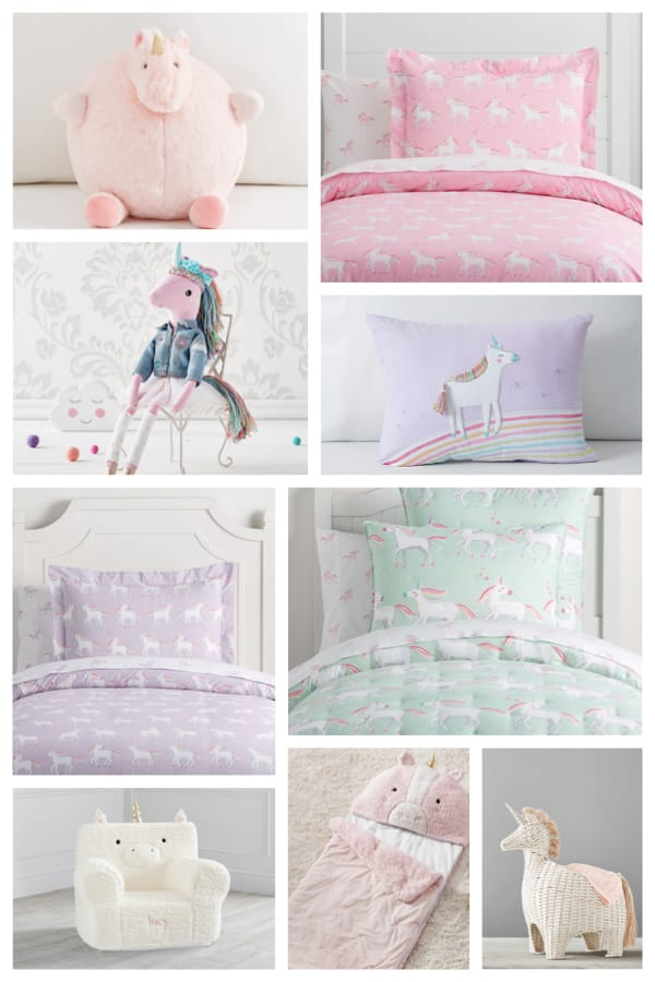 Magical Unicorn Bedroom Decor & Bedding Ideas