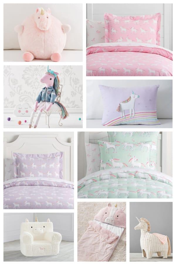 Magical Unicorn Bedroom Decor & Bedding Ideas