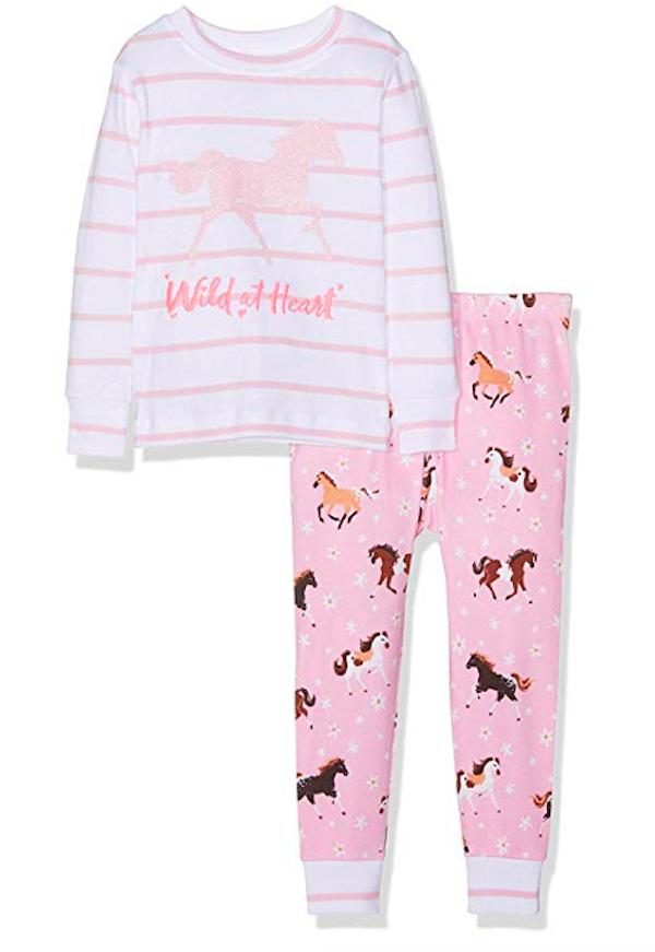 Wild at Heart Frolicking Horse Pajamas