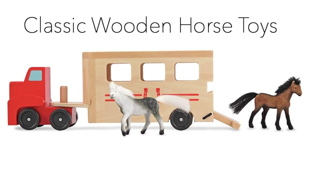 Classic Wooden Toys for the Young Horse Lover
