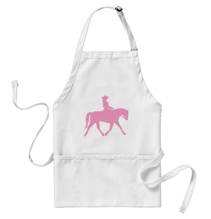 Horse Cowgirl Apron