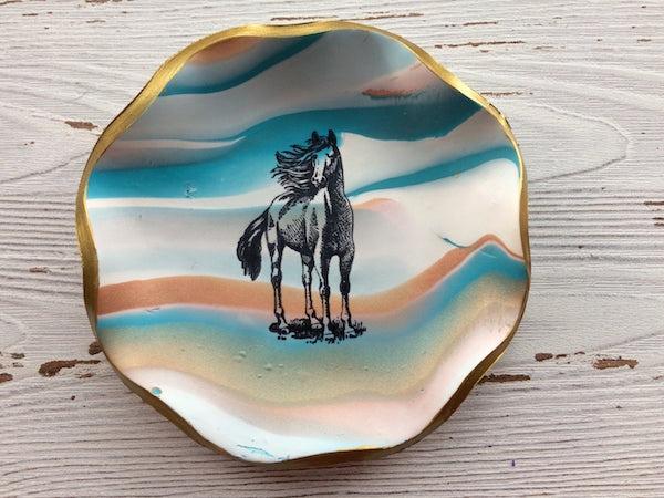 Horse Trinket Dish