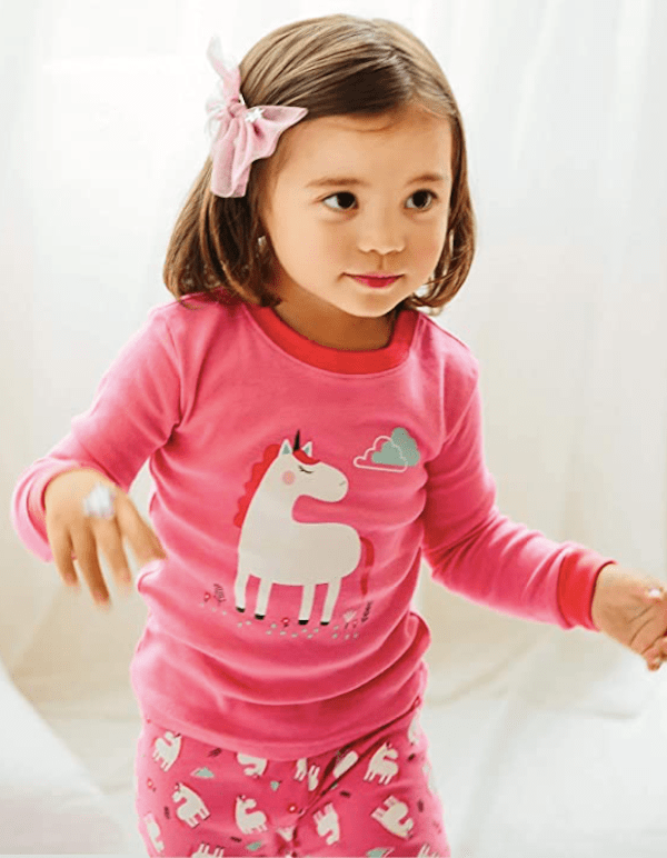 Hot Pink Unicorn Pajamas