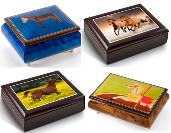 Music Boxes for Horse Lovers