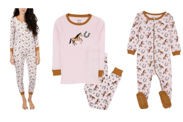 Pink Horse Pajamas