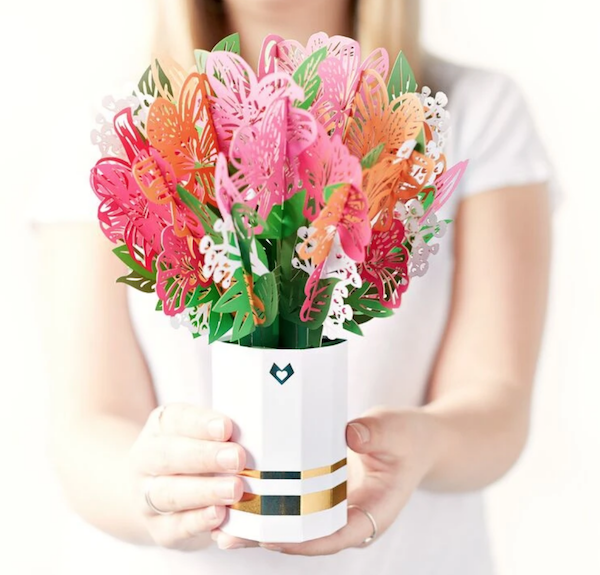 LovePop Pink Lily Bouquet