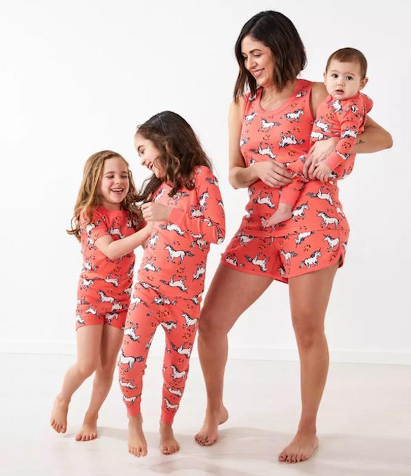 Unicorn Race Pajamas