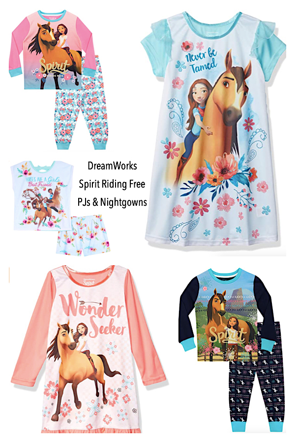 DreamWorks Spirit Riding Free Horse PJs & Nightgowns